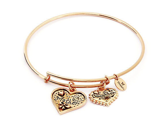 Mother & Daughter Expandable Bangle-Rose