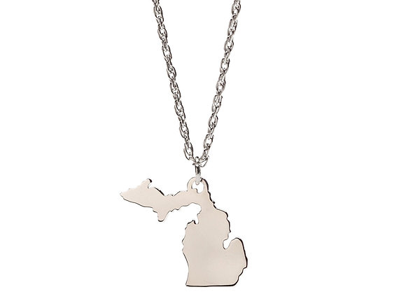 Love Michigan Pendant Necklace