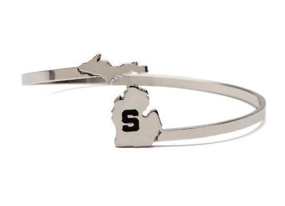 MSU Bracelet- Block S