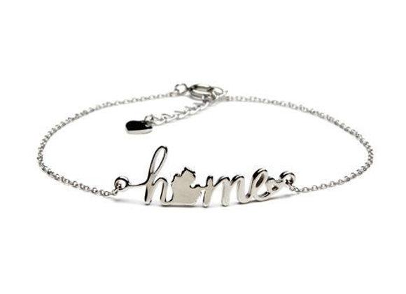 Love Michigan Home Bracelet