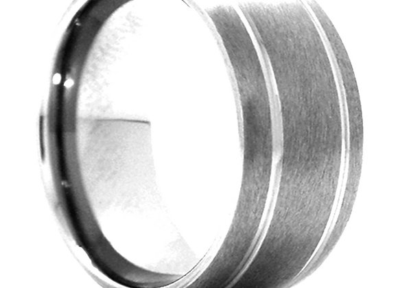 Dome Tungsten Band with Satin Finish
