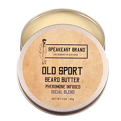 Speakeasyn Brand Old Sport Frangrance Beard Butter product for men's beards