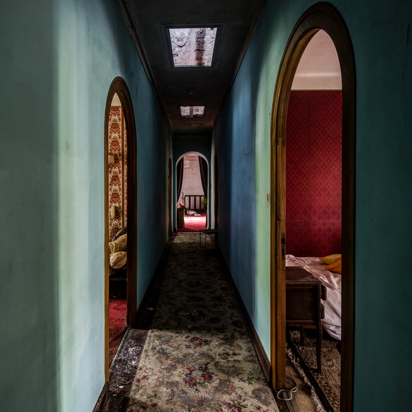Urbex - Hôtel Kitsch