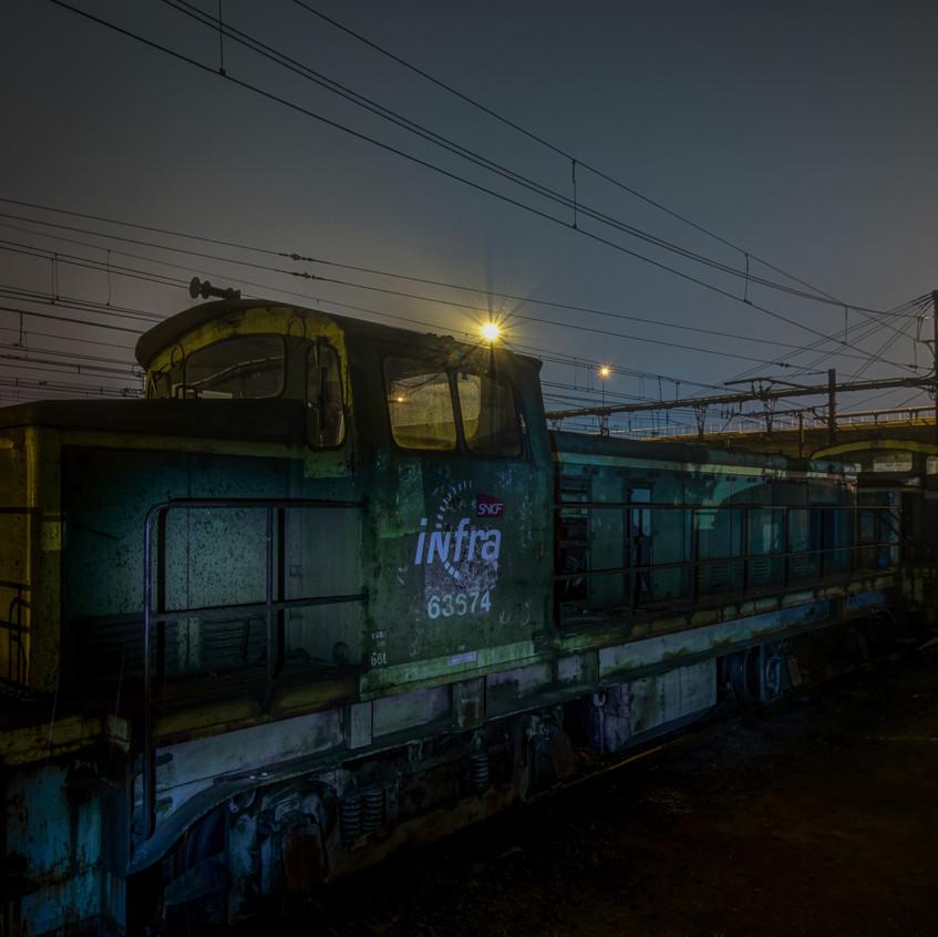 Urbex - Cimetière du train orange