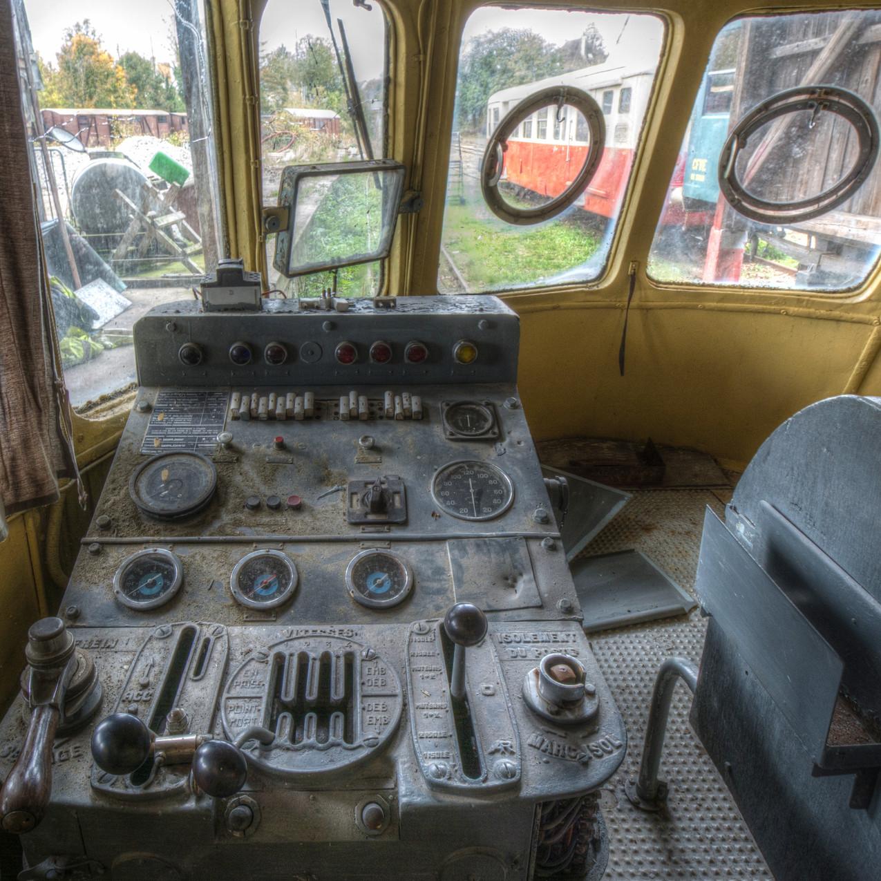 Urbex - Cimetière du train boudin 05