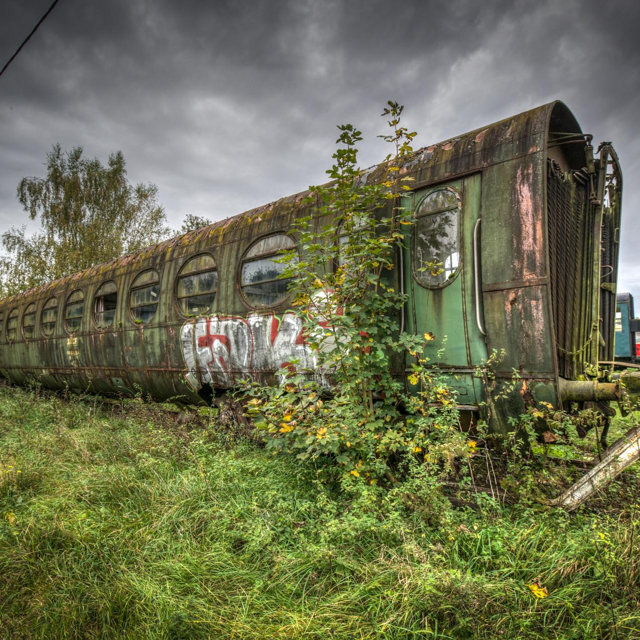 Urbex - Cimetière du train boudin 13