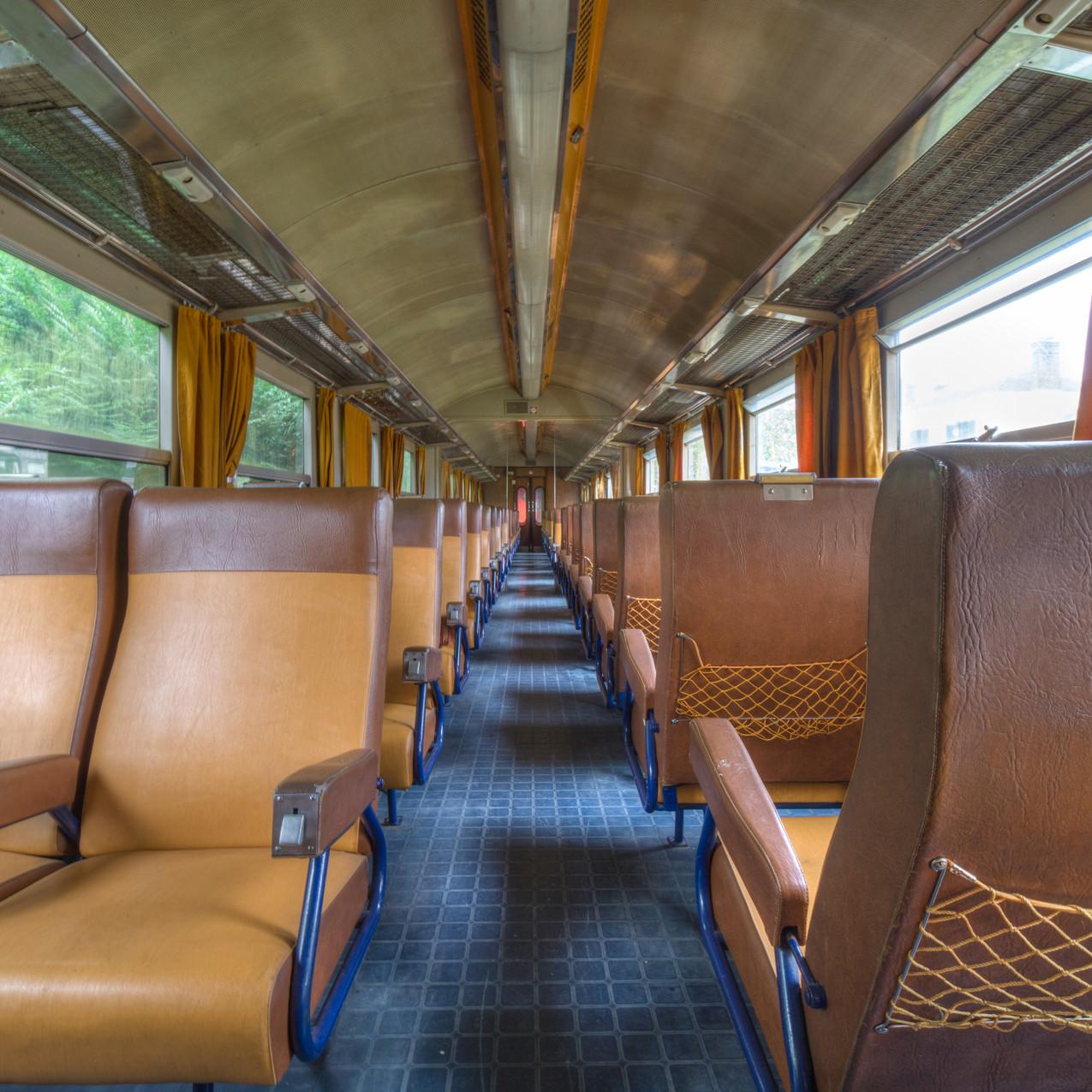 Urbex - Cimetière du train boudin 14 (Cuir corail)