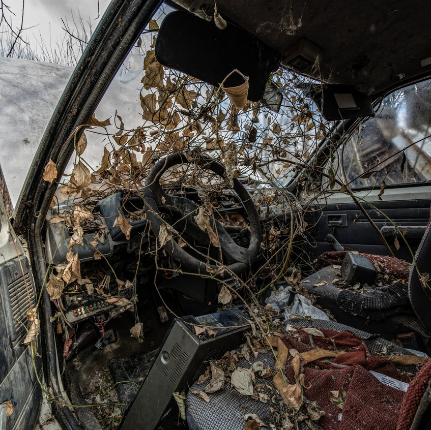 Urbex - Garage de la garrigue
