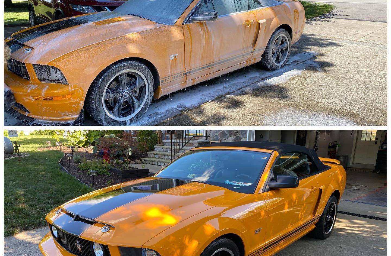 Mustang Exterior Detail