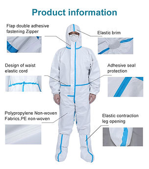 Medical-Safety-Isolation-Suit-Disposable