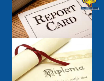 Seniors Report cards and Diplomas Pick Up