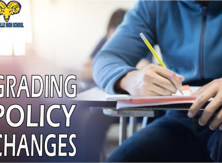 Grading Policy Changes