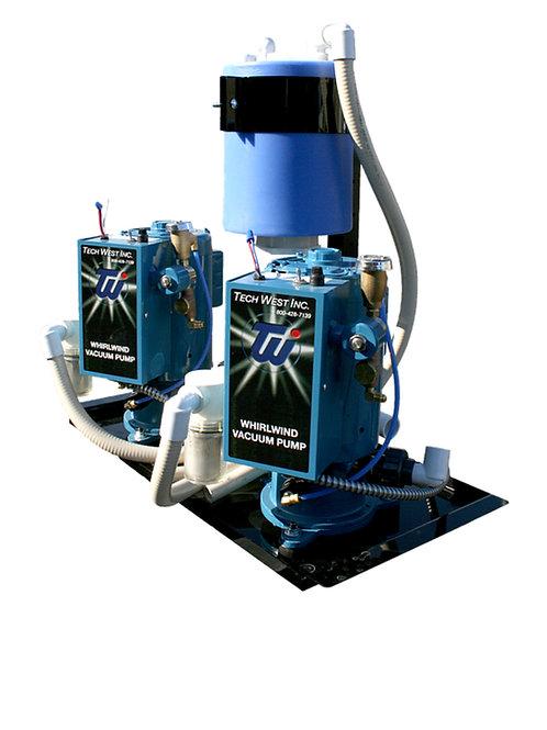 Tech West Dual H/P Vacuum VPL8D2