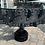 Thumbnail: Custom made steampunk tractor wheel table