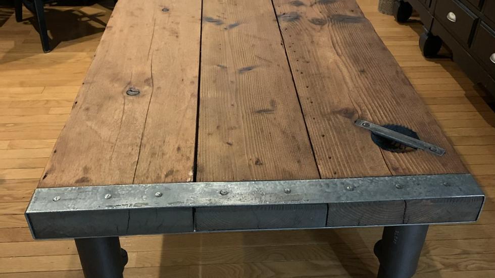 Liberty ship hatch coffee table