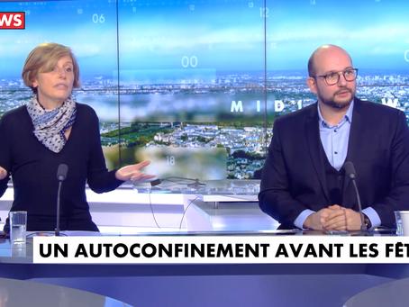 Invité de l'émission Midi News sur CNEWS