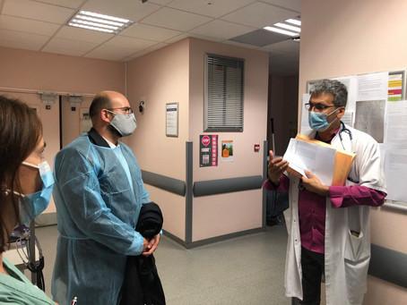 Visite à l'Hôpital-Clinique Claude Bernard de Metz