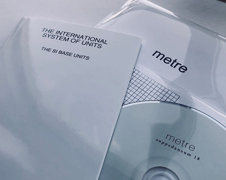 suppedaneum 18, Patrick Farmer & David Lacey, Thomas Martin Nutt 'metre' CD and score release.