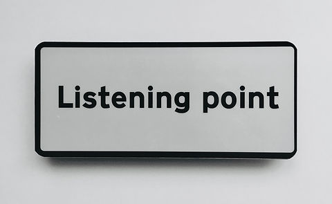 thomas martin nutt Listening Point UK installation sign