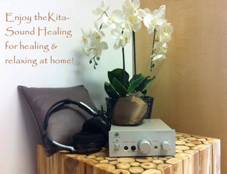Sound healing at home