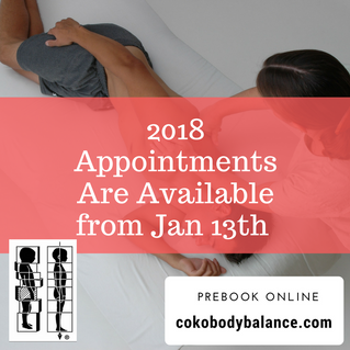 Hello 2018, Appointments Are Available from Jan 13th. Prebook Online