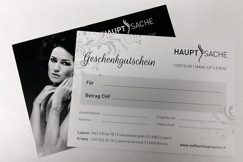 Geschenk Gutschein CHF 250