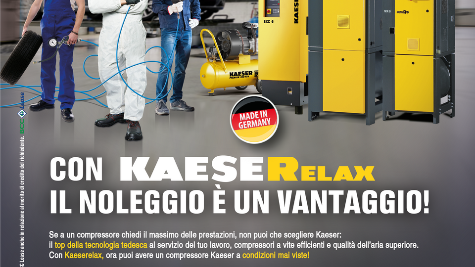 Kaeser incentivi settore automotive