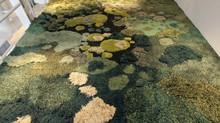 Трава на полу в виде ковров от Alexandra Kehayoglou