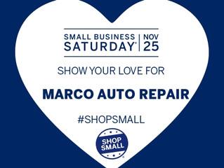 Shop small this Saturday November 25th