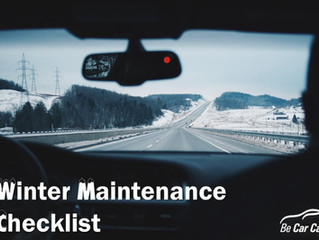 Winter Vehicle Maintenance tips from carcare.org
