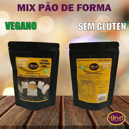 MIX PARA PÃO DE FORMA VEGANO!