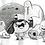 Thumbnail: Monster Gang - Ink Tober A5