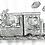 Thumbnail: Traino - Ink Tober A5