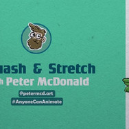 Anyone can animate - squash and stretch