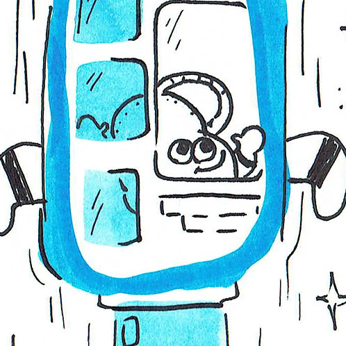 Bottle Rocket - Pocket Painting