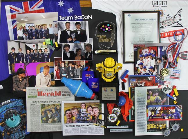 Team BaCoN photo montage