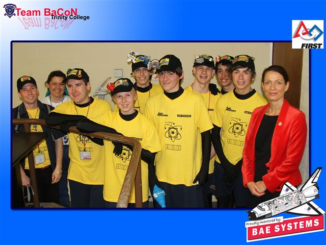 Team BaCoN with the Danish Ambassador