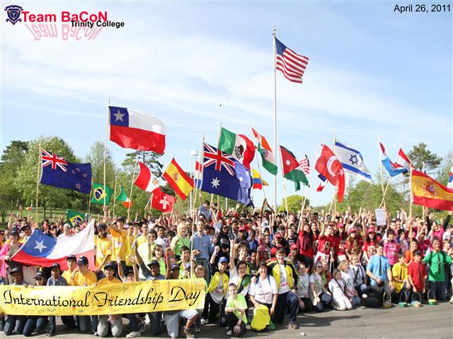 Team BaCoN at International Friendship Day