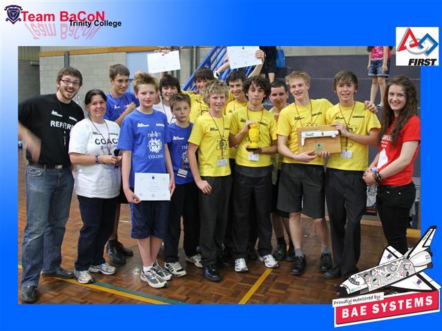 Team BaCoN win SA Championships