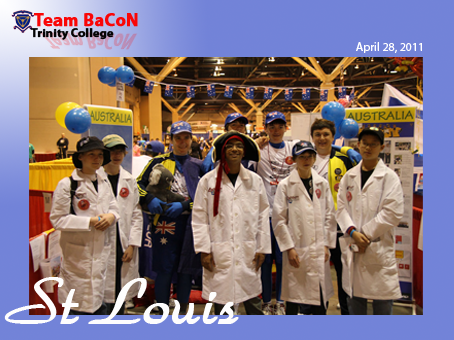 Team BaCoN and FLL teams at World Championships