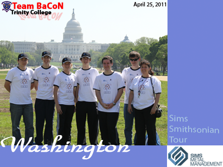 Team BaCoN in Washington DC