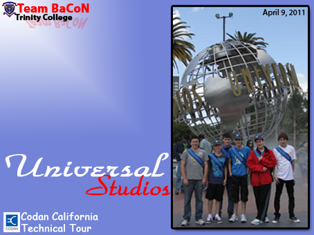 Team BaCoN at Universal Studios