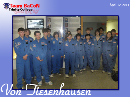 Team BaCoN at Space Camp