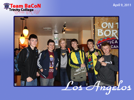 Team BaCoN with Sue Lynch