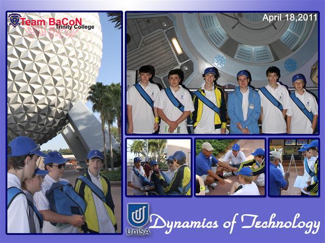 Team BaCoN at Epcot, Disneyworld