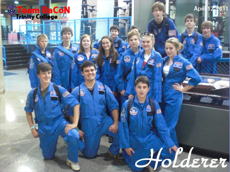 Team BaCoN in Team Holderer at Space Camp
