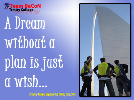 Team BaCoN at the St Louis Arch