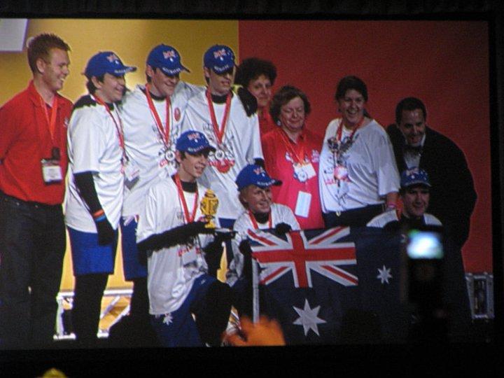 Team BaCoN win Innovative Solution Award at World Championships