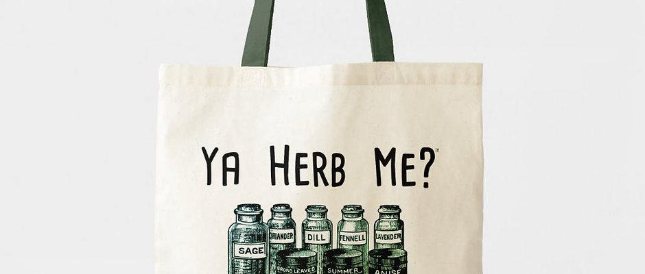 Ya Herb Me?™ Cotton Tote Bag