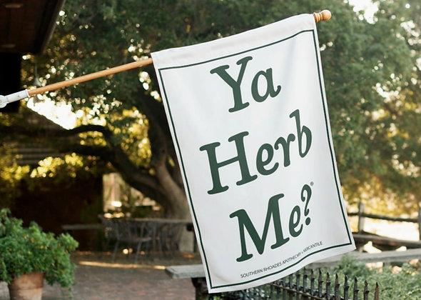 "Ya Herb Me® Outdoor Flag, 40"" x 27"""